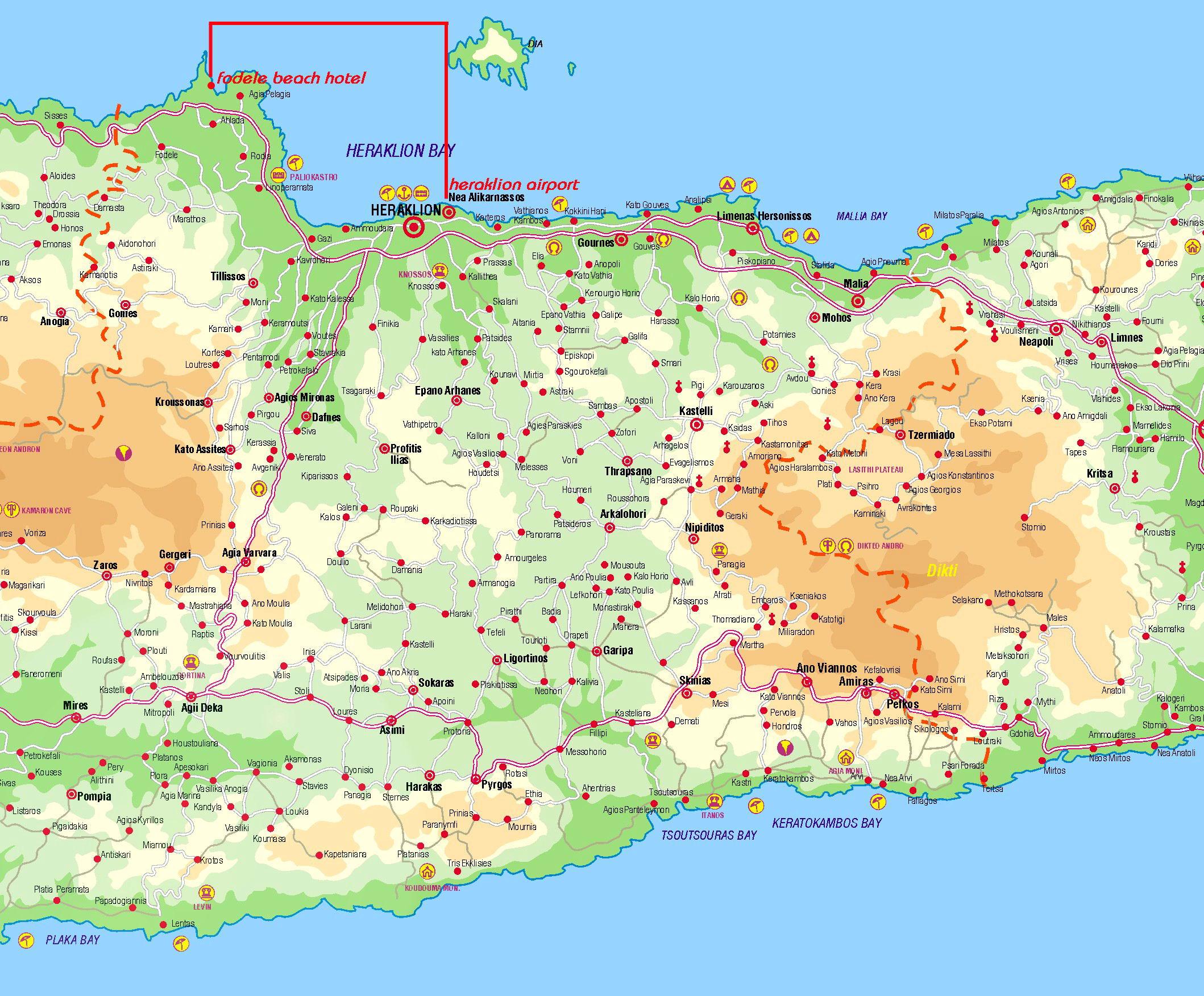 Kreta Karte Stalis.Hyper Nano 2008